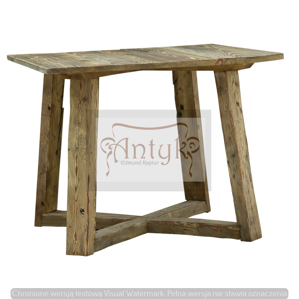 stolik ze starego drewna ARRAS B