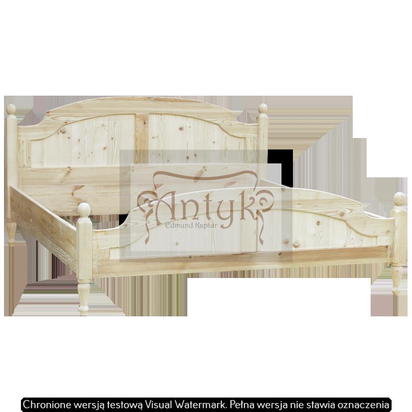 łóżko ze starych desek MANIERA